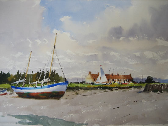 The Drying Sail, Branchaster Staith, Norfolk