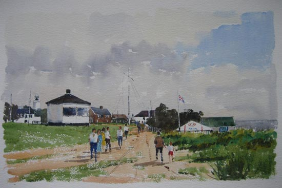 Clifftop Walk, Southwold - 2006
