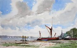 Sailing Barge on the River Orwell