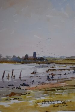 Blythburgh Church from the Marshes